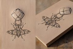 Tattooed onto leather. Bug wings by PUNCTURED-ARTEFACT.deviantart.com on @deviantART