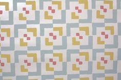 Vintage Wallpaper - Retro Geometric