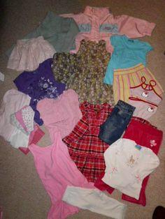 Mädchenkleidung   Größe  92/98 ________ 23 Teile