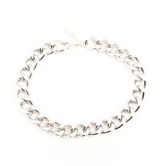 Silver Tone Chunky Chain Choker Necklace  Gorgeous silver statement choker which is amazingly lightweight and hard wearing so you can wear it with every outfit. Can be worn alone or with other necklaces for the layered look.  Choker is 12 inches in length with a 50mm silver plated chain extender. If you would like an alternative length, please feel free to add a quick note to your order.  Your necklace will be mounted on jewellery card, cutely wrapped and then packaged in a padded envelope…