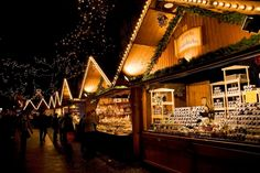 the inside of german christmas markets chalets | of authentic german beers mulled wine and cuisine try the german ...