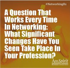 #NetworkingRx: How has your business environment changed in recent years?