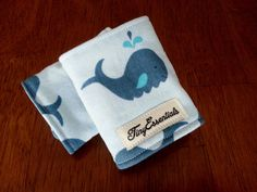 Blue Whales Infant Carseat Strap Covers by TinyEssentials on Etsy