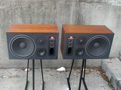 JBL 4412 Studio Monitors. It's an unpretentious rectangular box that holds the key to virtually all of recorded audio. Because it was the most used studio monitor in the recording industry. To complicate the matter it has been known by many names over the years: 4311, 4411, 4312, 4412, L112 and several more. Many people know it as the JBL L100, the most popular loudspeaker of all time.