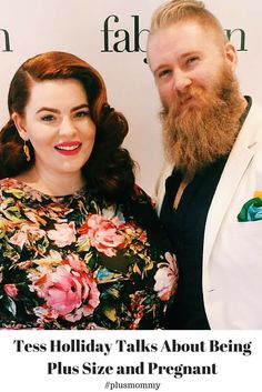 """""""I think it's really important to talk about the realities of being plus size and pregnant. The options for nursing bras, maternity, belly bands & books are so minuscule that it's insulting."""" - Tess Holliday  I'm so very happy for Tess Holliday and thankful she's speaking out about the challenges of being plus size and pregnant. We chatted today and I know her voice will make a big difference and help to spread the messages I've been screaming out for nearly 5 years."""