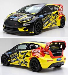 Ford Fiesta ST Global Rallycross! TF's new 2013 livery & ride