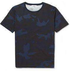 Valentino Camouflage-Print Cotton-Jersey T-Shirt | MR PORTER