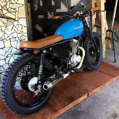 Simply a nice bike. Great job @stg_tracker CB125 Mais