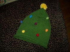 Ravelry: Christmas Tree Hat pattern by Marji LaFreniere