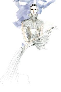 Valentino's special New York couture collection by Maria Grazia Chiuri and Pierpaolo Piccioli. [Photo by Steven Stipelman]