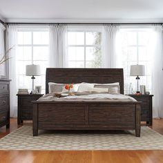 That Furniture Outlet - Minnesota's #1 Furniture Outlet. We have exceptionally low everyday prices in a very relaxed shopping atmosphere. Ashley Trudel 8 Piece Bedroom Suite thatfurnitureoutlet.com #thatfurnitureoutlet  #thatfurniture  High Quality. Tremendous Selection. Exceptional Prices.