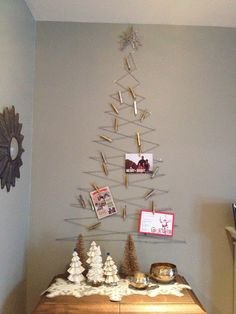 mintagehome: Holiday Card Holder
