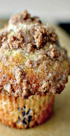 """""""To Die For"""" Blueberry Muffins *****bake for 25 minutes. Add slightly more fruit. Half the topping."""