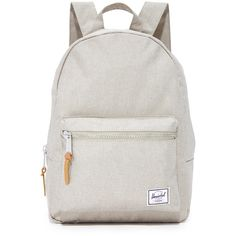 Herschel Supply Co. Grove X-Small Backpack (220 RON) ❤ liked on Polyvore featuring bags, backpacks, light khaki crosshatch, khaki canvas backpack, padded bag, canvas daypack, day pack backpack and wrap bag
