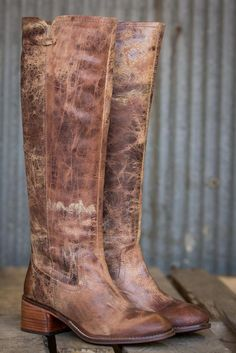 Pink Coconut Boutique | No Matter What Boot - Tan Vintage Leather