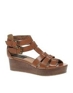 Bertie tan sandals