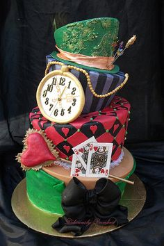 Alice in Wonderland Cake. @Alex Jones Grafton