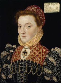 "Elizabeth FitzGerald, Countess of Lincoln ""The Fair Geraldine"" (National Gallery of Ireland) ca. 1575"