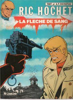 Ric Hochet 36 - la flèche de sang - les Editions du Lombard 1983