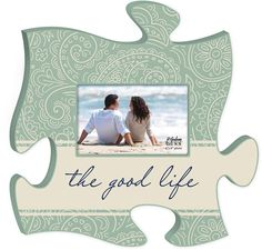 The Good Life Puzzle Photo Frame