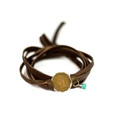 Studio Penny Lane: Liberty Wrap Bracelet - I <3 leather jewelry