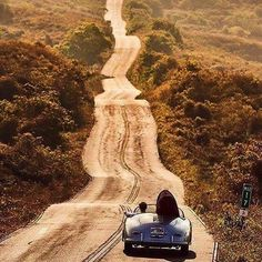 Escape… #drive #endless #hot #summer #dream #surf #adventure #paradise #porsche #2016 #fun