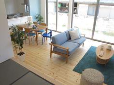 ライトブルー色をテーマカラーとした北欧風なナチュラルコーディネート事例をご紹介します の画像 家具なび ~きっと家具から始まる家づくり~