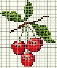 Thrilling Designing Your Own Cross Stitch Embroidery Patterns Ideas. Exhilarating Designing Your Own Cross Stitch Embroidery Patterns Ideas. Cross Stitch Fruit, Cross Stitch Kitchen, Mini Cross Stitch, Cross Stitch Flowers, Cross Stitch Charts, Cross Stitch Designs, Cross Stitch Patterns, Broderie Simple, Diy Broderie