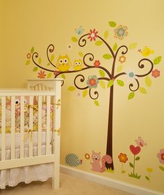 Whimsical Wall Tree Decal