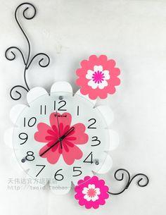 12 mejores imágenes de Diseño Reloj Pared | Reloj, Disenos ...
