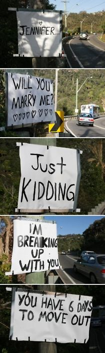 lord- i'm repinning this because if anyone ever did this to me, you would find his body by the sign.
