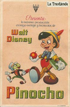 Programa de Cine - Pinocho