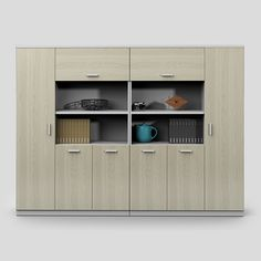Environmental Friendly Commercial Furniture Fireproof Waterproof Mdf File  Cabinet