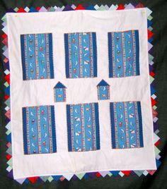 Baby quilt for Sam 7-2014
