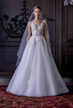 Ella Monique Lhuillier Spring 2016 Bridal Collection