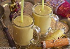 Mango lassi Mango Lassi, Indian Summer, Glass Of Milk, Smoothie, Drinks, Food, Drinking, Beverages, Essen