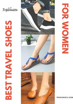 The search for the best travel shoes for women depend on the traveler itself and we all know that a lot of factors come in when deciding which pair of shoe to buy. So to give you an idea of your next purchase, here are the best travel shoes for women. Usa Travel, Best Travel Apps, Travel Gadgets, Travel Hacks, Packing Hacks, Travel Ideas, Travel Inspiration, Packing List For Travel, Traveling Tips