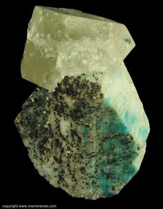 Topaz, Amazonite, Tourmaline, Phenakite / Zapot pegmatite, Gillis Range, Fitting District, Mineral Co., Nevada