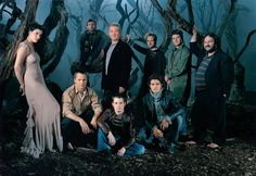The Lord of the Rings Cast with Peter Jackson