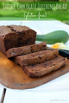 Double Chocolate Zucchini Bread - made this & it was amazing!  Delicious and decadent with vegetables in it!  If you have any lingering zucchini, try this. :)