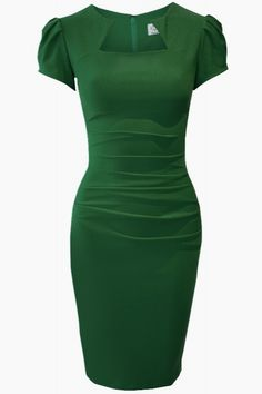 FairyGothMother Alexandra Curve-contouring style dress.// Love the color