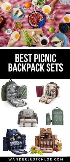Choose the best backpack picnic set for your next outdoor adventure. These picnic backpack sets are super portable with comfortable padded straps, stainless steel cutlery, insulated wine holders, waterproof cooler compartments and more. They're lightweight and portable while being stylish too - perfect for your next picnic, festival or camping trip. They make great gifts for friends or family who love being outdoors too. #picnic #picnicinspiration #backpackpicnic #picnicbackpack Best Travel Gifts, Best Gifts, Wine Holders, Picnic Backpack, Stainless Steel Cutlery, Picnic Set, Gadget Gifts, Cool Backpacks, Cool Gadgets