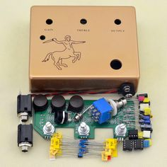 42.99$  Watch now - http://alib2o.shopchina.info/go.php?t=32376249286 - DIY KLON overdrive pedal kit electric guitar boost& Overdrive Effect Pedals handmade  parts Musical instrument free ship  #shopstyle