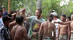 Surfers Celebrate Victory at G-Land.. :D :D