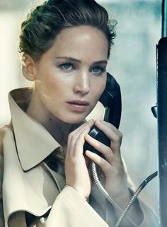 """""""Jennifer Lawrence by Peter Lindbergh for Vanity Fair Holiday 2016/2017"""""""