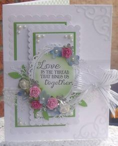 """SC427, ODBDSLC146, """" Mom and Dad Anniversary """" by wendy2512 - Cards and Paper Crafts at Splitcoaststampers"""