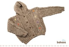Hyca cardigan is 100% eco and ethically made