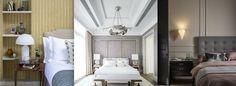 Bedside Lighting, Bedside Table Lamps, Bedroom Lighting, Cool Lighting, Chandelier Bedroom, Bedroom Ceiling, Stylish Bedroom, Traditional Bedroom, Master Bedroom