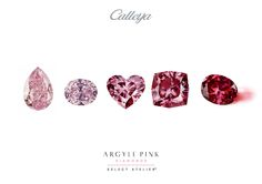 Argyle Pink Diamonds, October 2014, Pretty In Pink, Love Her, Bliss, Glow, Universe, Fire, Atelier