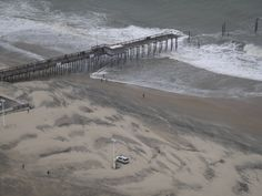 Ocean City's Iconic Pier after Hurricane Sandy